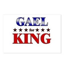 GAEL for king Postcards (Package of 8)