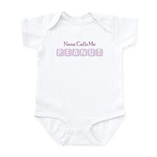 Nana Calls Me Peanut Infant Bodysuit