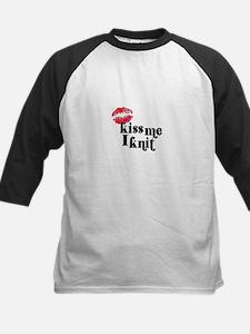 Kiss Me I Knit Tee
