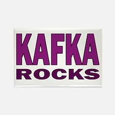 Kafka Rocks Rectangle Magnet