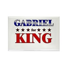 GABRIEL for king Rectangle Magnet