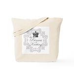 The Princess is Knitting Tote Bag