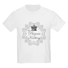 The Princess is Knitting T-Shirt