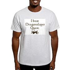 i beat dragonslayer quest T-Shirt
