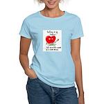 Knitting and Chocolate Women's Light T-Shirt