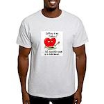 Knitting and Chocolate Light T-Shirt