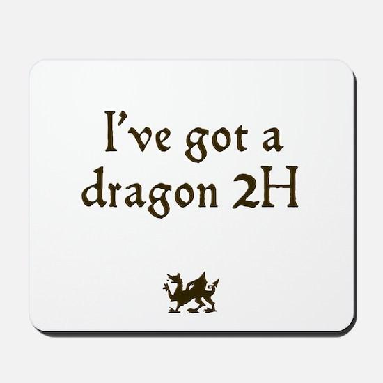 ive got a dragon 2H Mousepad