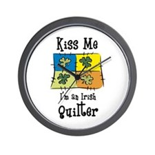 St. Patrick's Day - Irish Qui Wall Clock