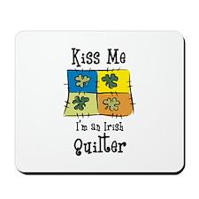 St. Patrick's Day - Irish Qui Mousepad