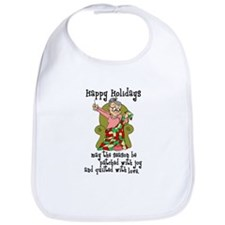 Happy Holidays - Quilter Bib