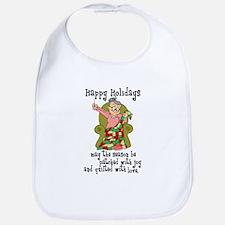 Happy Holidays - Quilter Bib
