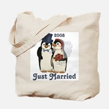 Just Married 2008 Tote Bag