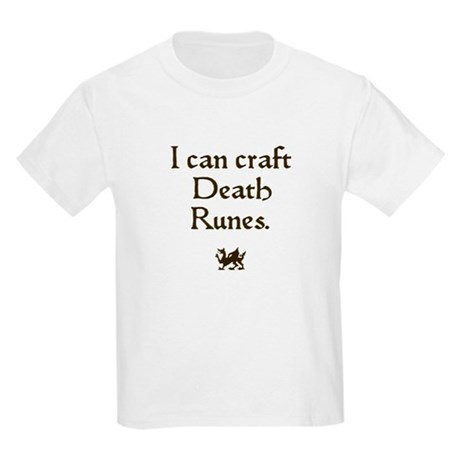 i can craft death runes Kids Light T-Shirt