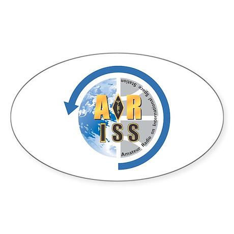 ARISS Oval Sticker