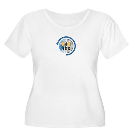 ARISS Women's Plus Size Scoop Neck T-Shirt