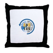 ARISS Throw Pillow