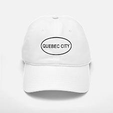 Quebec City Oval Baseball Baseball Cap