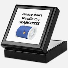Don't Needle The Seamstress Keepsake Box
