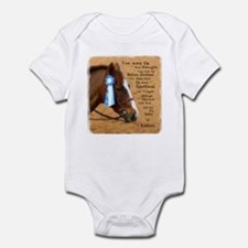 All For A Ribbon Horse Infant Bodysuit