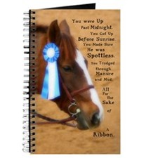 All For A Ribbon Horse Journal