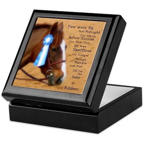 All For A Ribbon Horse Keepsake Box