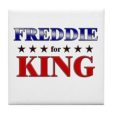 FREDDIE for king Tile Coaster