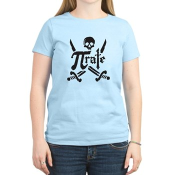 PI rate Women's Light T-Shirt | Gifts For A Geek | Geek T-Shirts