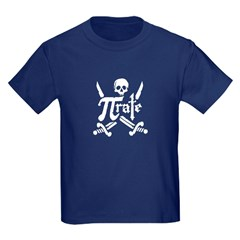 PI rate Kids Dark T-Shirt