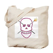 Born 2 knit Tote Bag