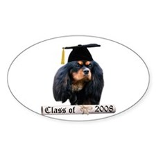 Cavalier Grad 08 Oval Decal