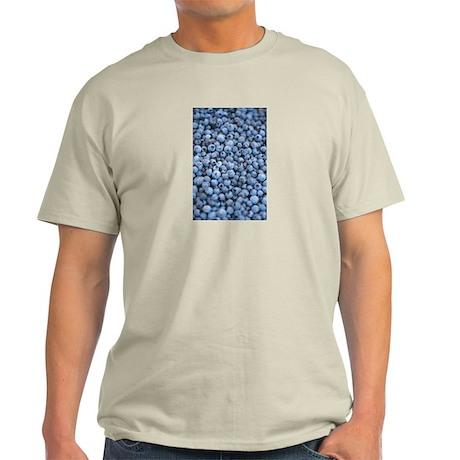 mmmm,BLUEBERRIES Light T-Shirt