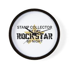 Stamp Collector RockStar Wall Clock
