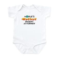 World's Hottest Paten.. (C) Infant Bodysuit