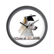 Crested Grad 08 Wall Clock