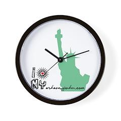 I liberty NY Wall Clock