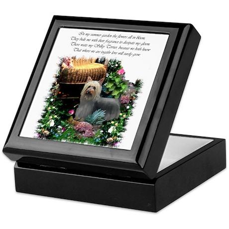 Silky Terrier Art Keepsake Box