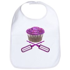 Cupcake and Crossbeaters Bib