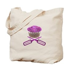 Cupcake and Crossbeaters Tote Bag