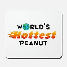 World's Hottest Peanut (C) Mousepad