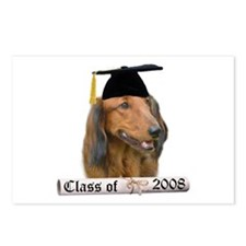 Dachshund Grad 08 Postcards (Package of 8)