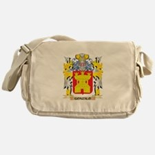 Gonzalo Coat of Arms - Family Crest Messenger Bag