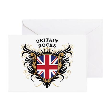 Britain Rocks Greeting Card