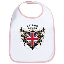 Britain Rocks Bib