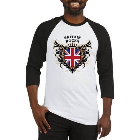 Britain Rocks Baseball Jersey