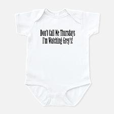Don't Call Me Thursdays I'm W Infant Bodysuit