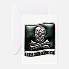 VF 84 Jolly Rogers Greeting Cards (Pk of 10)