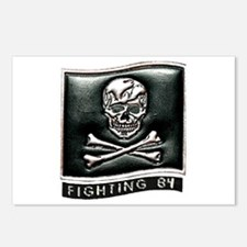 VF 84 Jolly Rogers Postcards (Package of 8)