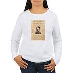Curly Bill Brocius Women's Long Sleeve T-Shirt