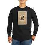 Curly Bill Brocius Long Sleeve Dark T-Shirt