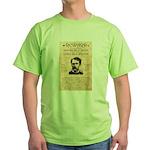 Curly Bill Brocius Green T-Shirt